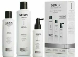 Nioxin System #1 One Hair Trial Kit Cleanser Scalp Therapy Scalp Treatment 5.03