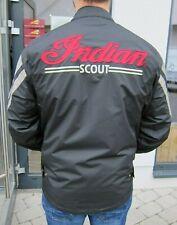 Indian Scout Motorcycle Jacke Motorradjacke schwarz Vintage 2866178 Gr. M
