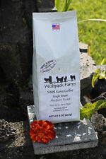 100% Kona Coffee, Single Estate, Award Winning, Medium Roast, Whole Beans, 8 oz
