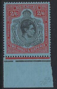 Bermuda - Scott # 124 - Mint Hinged - Sheet Margin Single - VF           (H-983)