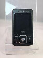 Sony Ericsson T303 - Black - Swisscom - Mobile Phone