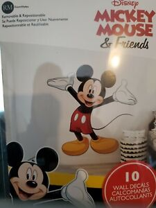 """Licensed Disney MICKEY MOUSE 37"""" Giant Wall Decals Mural Kid Room Decor Stickers"""
