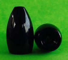 Kajun Boss 3/4 oz Black Tungsten Flipping Weights  5-pack  FREE SHIPPING!!!!!!!!