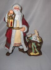 Lenox Fine Porcelain Grandfather Frost Figurine1992 Internatnal Santa Collection