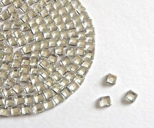Beautiful Sparkly Crystal Clear Square hot fix / iron on Rhinestones/Diamante