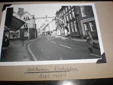 Old amateur photograph Ashbourne Derbyshire 1968
