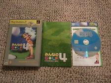 Minna no Golf 4 (Sony PlayStation 2, 2003) Japanese