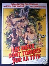 Les Dieux Sont Tombés sur la Tête, Affiche française