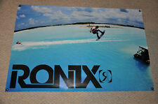 RONIX BANNER VIVA Chad Wakeboard With 2 RONIX Stickers DECAL