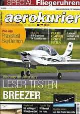 aerokurier 11/2013 November 2013 Breezer Lancair Legacy USA SkyDemon Klappen etc