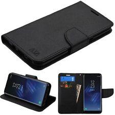 Étuis, housses et coques etuis portefeuilles noir Samsung Galaxy S8 pour téléphone mobile et assistant personnel (PDA)