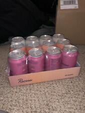Recess Sparkling Water For Calm And Focus Sampler 12 Pack