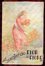 """1941 Cesare ARTIOLI """"Scegliendo fior da fiore..."""" - Pia Società SAN PAOLO"""