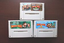 Super Famicom SFC Super Donkey Kong 1 2 3 Country Japan SNES game US Seller