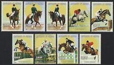Senegal 1999 - Mi-Nr. 1675-1684 ** - MNH - Pferde / Horses - Olympia