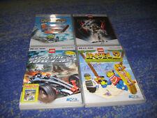 LEGO 4 PC Spiele in DVD Hüllen alle Deutsch mit Bionicle Racers und Insel usw.
