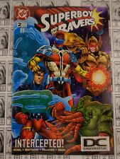 Superboy and the Ravers (1996) DC - #15, DC Universe Logo UPC Variant, VF