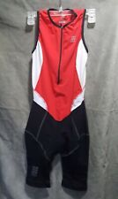 Lycra Cep Women ll/ S Black Red White Tri Swim Made Italy