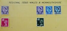 Wales & Monmouthshire,guernsey,Je rsey Great Britain Stamp Set