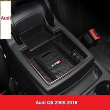 Car Glove Box Armrest Storage box Organizer Console Tray For Audi Q5 2008-16