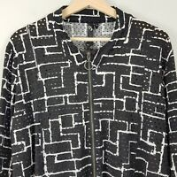 [ TS TAKING SHAPE ] Womens Openwork zip up Jacket  | Size M or AU 18