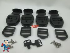 4X Spa Hot Tub Cover Latch Strap Repair Kit, Key Hot Spring Caldera Video How To