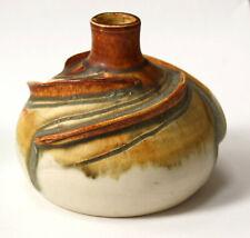 German Studio Keramik Vase, Hans-Georg Heinloth, art pottery vase,modern ceramic