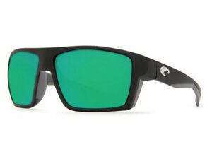 Costa Del Mar BLOKE Green Mirror Sunglasses 580G Glass BLK 124 OGMGLP