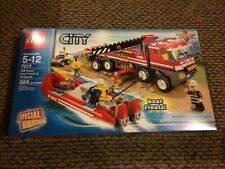 LEGO 7213 City Off-Road Fire Truck and Fireboat - BRAND NEW SEALED