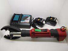 Burndy Patmd Battery Hydraulic Crimper Crimping D3 Amp O Jaw Crimp Tool 6t Nice