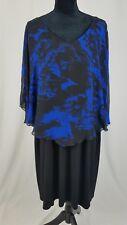Connected Abbigliamento Donna Taglie Forti 20W Chiffon Mantellina Coprispalle