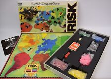 Risk The World Conquest Board Game by Parker 1985 Edition Complete