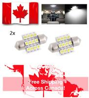 2 PCS 31MM DE3022 / DE3175 12 SMD HIGH POWER LED FESTOON (BRIGHT WHITE)