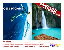Cebu Package Tour 3D2N with Airfare and Tour Great Deal!