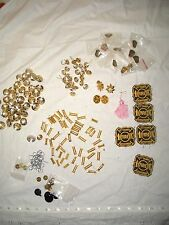 100 PIECES - FIRE DEPARTMENT BUTTON & PIN COLLECTION - OTTAWA - FIREMAN BADGES