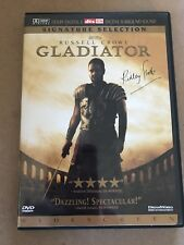 Gladiator Widescreen Dvd Signature Selection Ridley Scott Russell Crowe 2 Discs