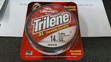 1 Spool Berkley Trilene Xl Smooth Casting Clear Mono Line 14 Pound Test 300 Yard