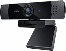 Aukey PC-LM1E Webcam FullHD 1920x1080 (30 FPs) Skype FaceTime HiFi Mikrofon Zoom