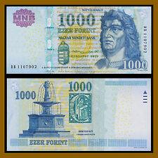 Hungary 1000 Forint, 2015 P-197 Unc