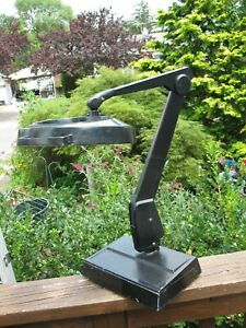 Dazor 8MC-100 Vintage Industrial Articulating Table,Desk Magnifying Lamp