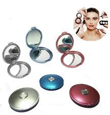 Specchio Portatile da Trucco Make up Cosmetica Fashion Per Borsa Borsetta Donna