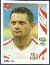 PANINI FIFA WORLD CUP-GERMANY 2006- #586-TUNISIA-SANTOS