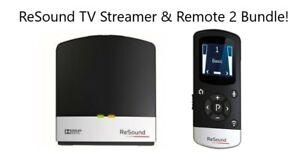 Limited Bundle! Gn ReSound Unite TV Streamer with GN ReSound Remote Control 2!