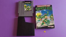 Teenage Mutant Hero TURTLES / jeu Nintendo NES en boite / PAL B FRA EEC