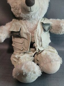 Build a Bear Fly Fishing Vest Waders Teddy Clothes Outfit Accessories