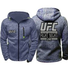 UFC Fans Hoodie Warm Coat Spring Sweatshirt Thin Jacket Fashion Tops Gifts