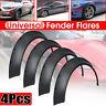4pcs Universal Car Wide JDM Fender Flares Wheel Arch Extensions PP Polyurethane