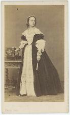 CDV circa 1865. Marie-Émilie Jolly, dite Mademoiselle Lloyd, actrice. Théâtre.