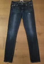 Paige Skyline Skinny Jeans Sz 27 Dark Wash