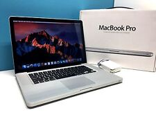 15 inch Apple MacBook Pro *One Year Warranty* Core i5 2.4Ghz HUGE 1TB SSD Hybrid